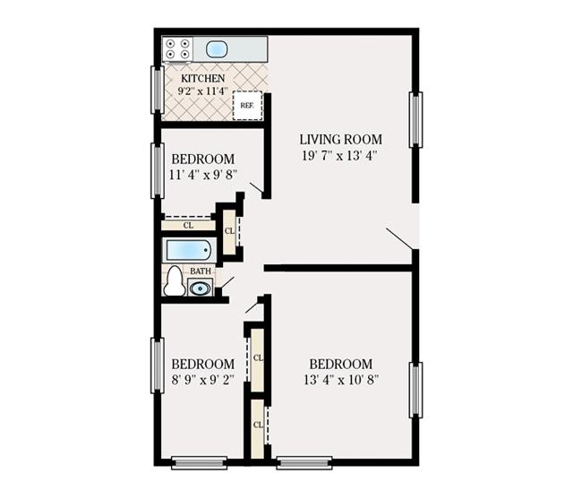 Floor Plans North Brunswick Gardens Apartments For Rent In North Brunswick Nj