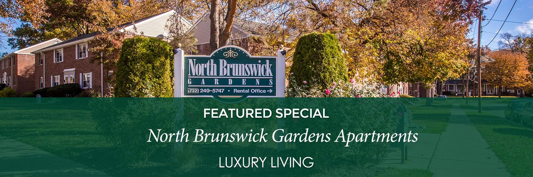 North Brunswick Gardens Apartments For Rent in North Brunswick, NJ Specials